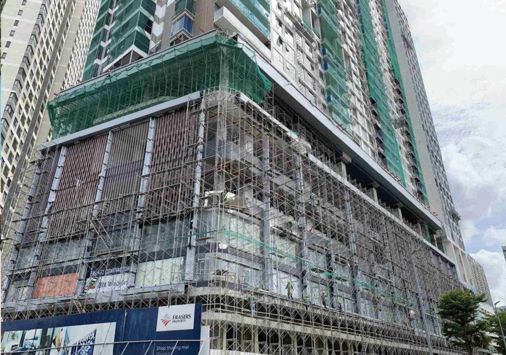Tiến độ xây dựng Q2 Thao Dien 6-2020