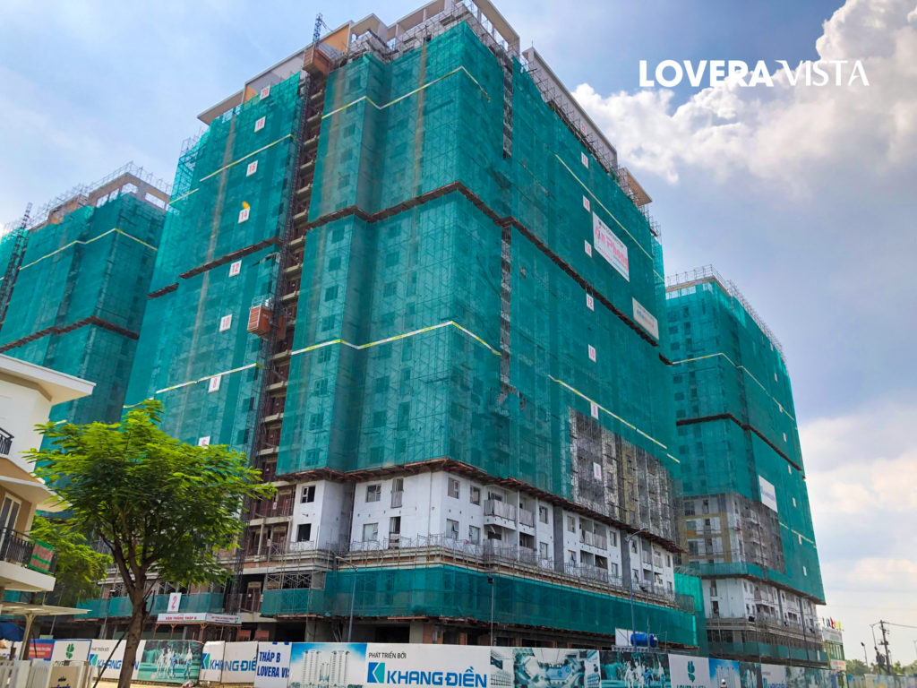 Tiến độ xây dựng Lovera Vista 9-2020
