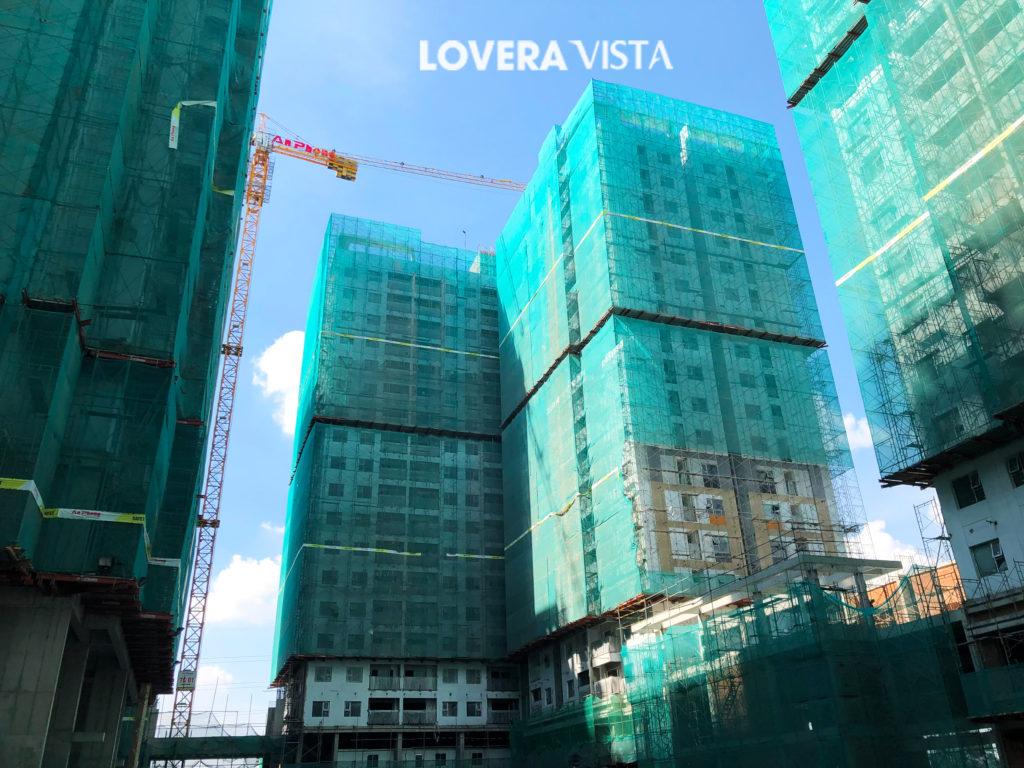 Tiến độ xây dựng Lovera Vista 8-2020