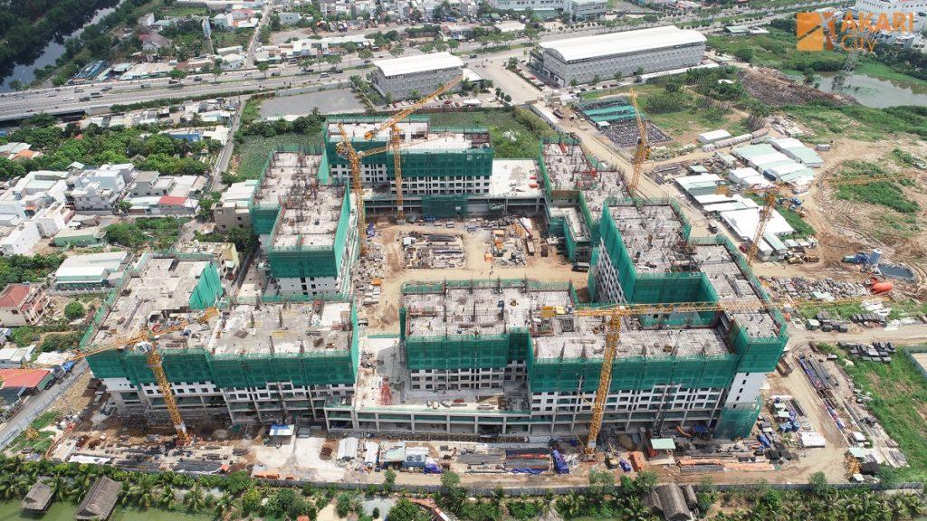 Tiến độ xây dựng Akari City 5-2020