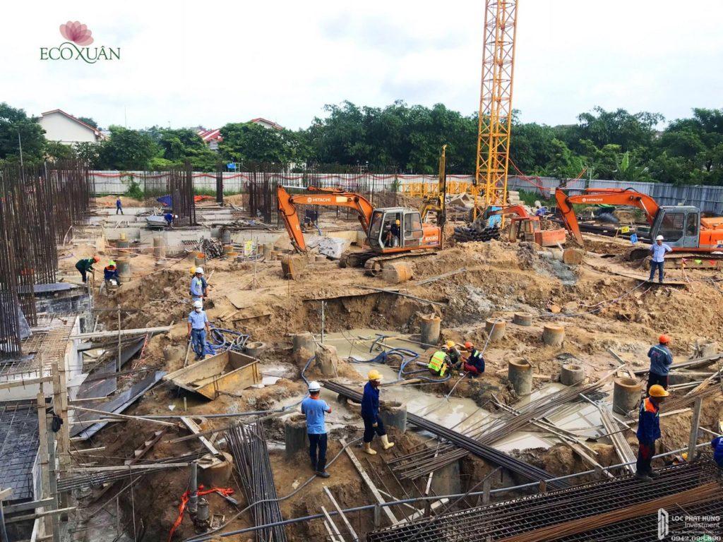 Tiến độ xây dựng EcoXuan 9-2020