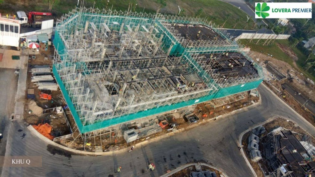 Tiến độ xây dựng Lovera Premier 10-2020