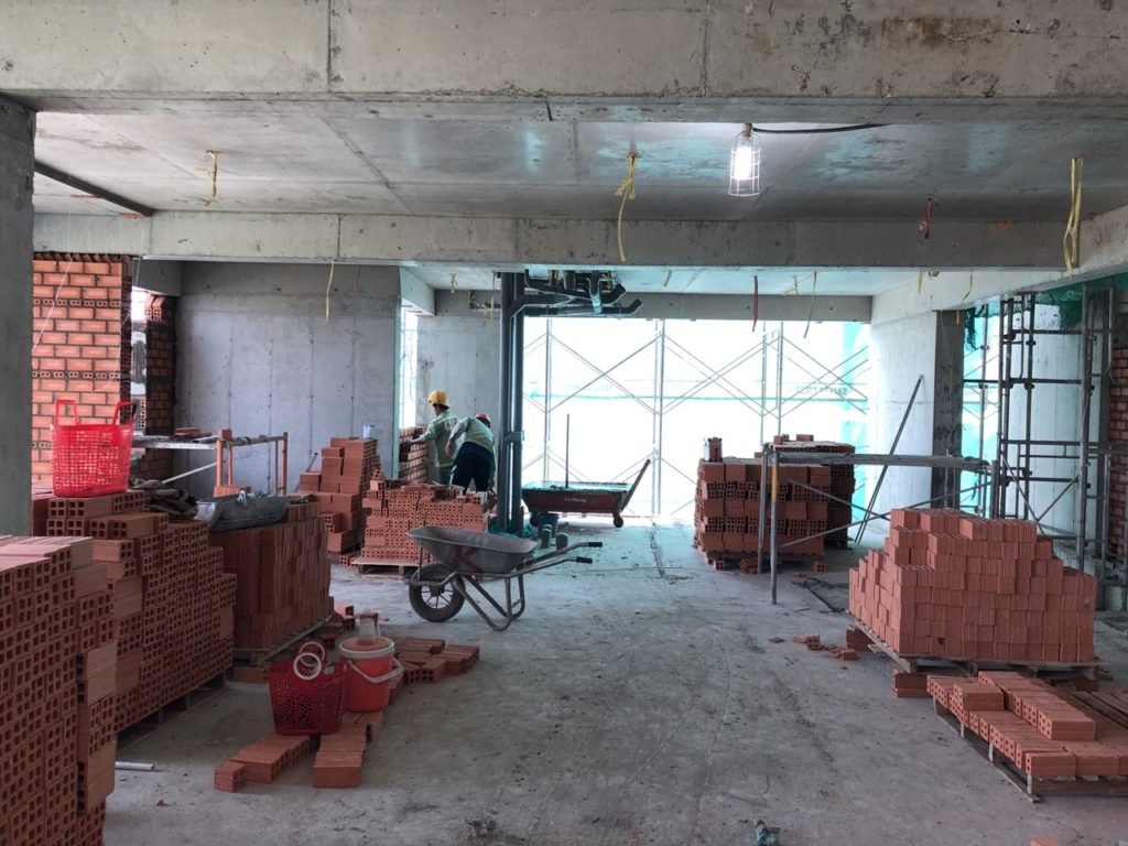 Tiến độ xây dựng 3-2020