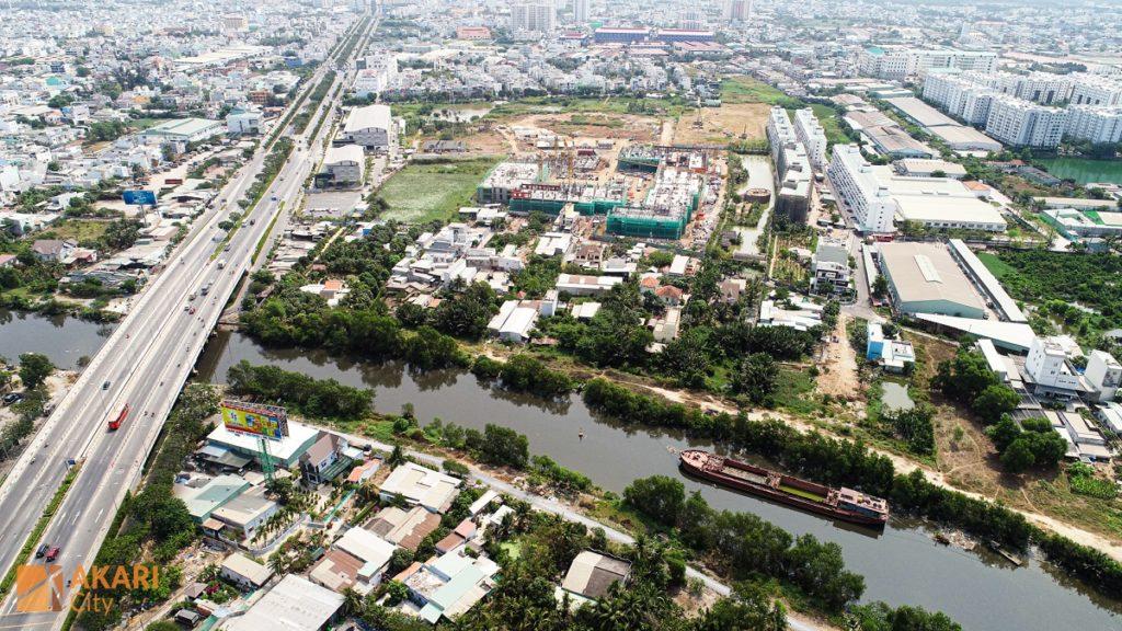 Tiến độ Akari City 3-2020