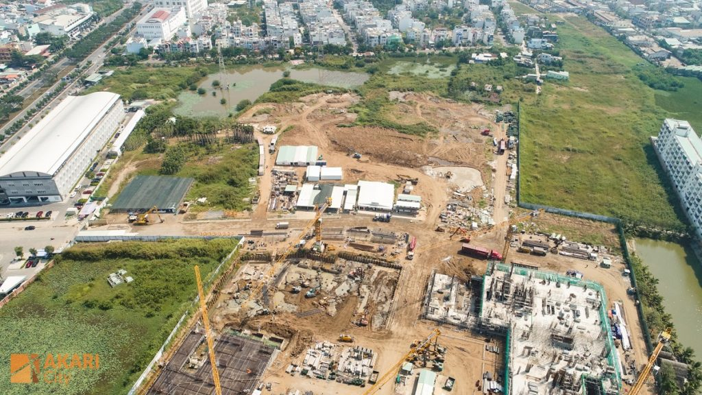 Tiến độ Akari City 2-2020